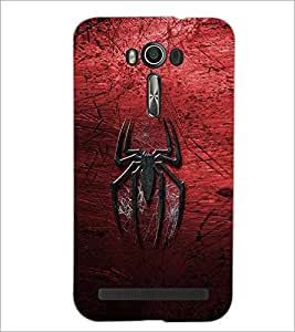 PrintDhaba Spider D-2323 Back Case Cover for ASUS ZENFONE 2 LASER ZE550KL (Multi-Coloured)
