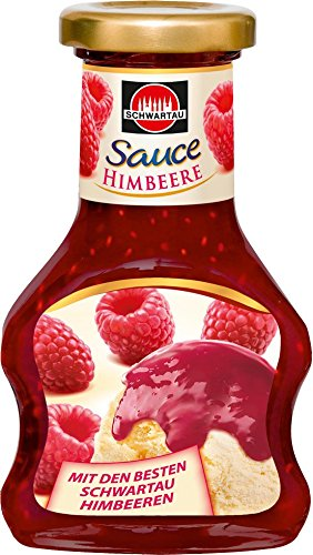 Schwartau Dessert Sauce Himbeere, 8er Pack (8 x 125 g)
