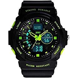 Skmei Analogue-Digital Black Dial Men Watch_ 955