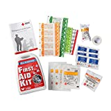 SJ WORKS All purpose Mini First Aid kit,easy On-The-Go for your sweet home,outdoor, auto use