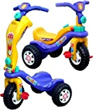 eHomeKart 2-in-1 Kids Tricycle Cum Three Wheel Kick Scooter for Boys and Girls - Ideal Baby Age 1 to 4 Years - (L53 x…