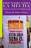 Prendiendo la mecha: Violencia política en la España actual (Libros Abiertos)