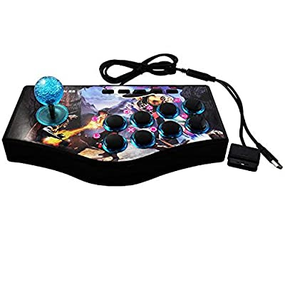 SUNCHI 3 in 1 Arcade Fighting Joystick Gamepads Game Controller for PC / PS3 / Android Smartphone TV by SUNCHI