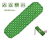 Best Backpacking Sleeping Pads - Hikenture Sleeping Mat Roll for Camping by Camping Review