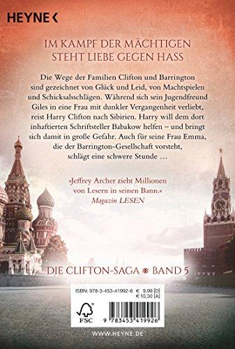 Die Wege der Macht: Die Clifton Saga 5 - Roman