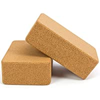 كتلة اليوغا خشب الفلين اليوغا مكعبات لينة عالية الكثافة اليوغا لدعم الأوضاع