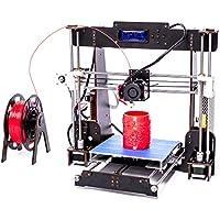 CTC A83d impresora DIY color impresión impresora marco de madera (mecánico Kit de impresión materiales LCD filamento en aluminio estructura