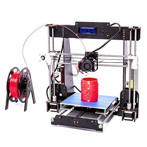 AA+Inks A8 3D Drucker Kit Selbstbauen LCD Display ABS PLA Filament Wooden Desktop 3D Drucker DIY 3D Printer Kit