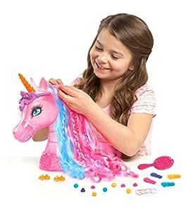 Imc Toys - 784727 - Tête À Coiffer - Reine Des Licornes - Barbie Secret Door