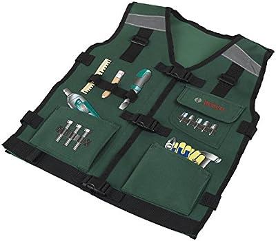 Bosch - Chaleco para herramientas de juguete (Theo Klein 8519)
