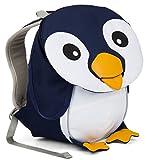 Affenzahn Kinderrucksack mit Brustgurt für 1-3 jährige Jungen und Mädchen im Kindergarten oder Kita der kleine Freund Pepe Pinguin - Dunkelblau