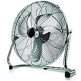 Taurus Sirocco 18 - Ventiladores industriales (Ventilador con aspas para el hogar, Cromo, Metal, 45 cm, Corriente alterna, 120 W)