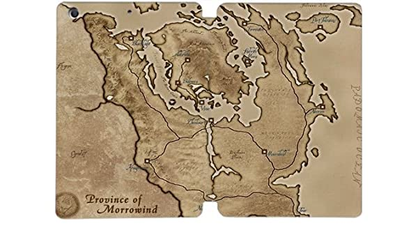 Ipad Mini 1 2 3 Case Province Of Morrowind Map The Elder Scrolls