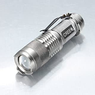 Sidiou Group 7W 300LM mini Cree llevó la antorcha de la linterna foco ajustable de luz de lámpara zoom (B006E0QAFY) | Amazon price tracker / tracking, Amazon price history charts, Amazon price watches, Amazon price drop alerts