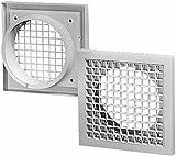 Helios Lüftungsgitter G 100 aus Kunststoff Gitter für Lüftungssysteme 4010184007968