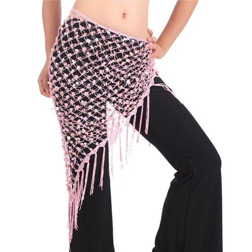 e Hip Schal, ägyptische Dreieck Schal, Halloween Git Idee, Pink, BDSH-DK16110_PINK (Einfache Ägyptische Kostüme)