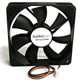 StarTech.com FAN12025PWM 120 x 25 mm Computer Case Fan with PWM, Pulse Width Modulation Connector, computer cooling Fan, pwm Fan, 120 mm Fan