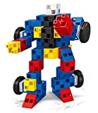 #6: Saffire 2-in-1 DIY Robot Block Set, Multi Color