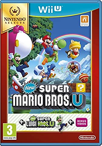 Wiiu New Super Mario Bros And New Super Luigi Bros (Eu)