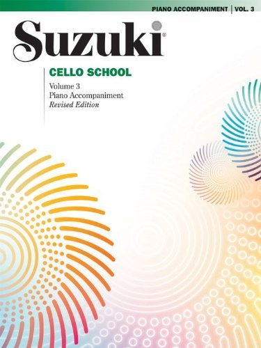Suzuki Cello School Piano Acc., Volume 3 (Revised) - Buch
