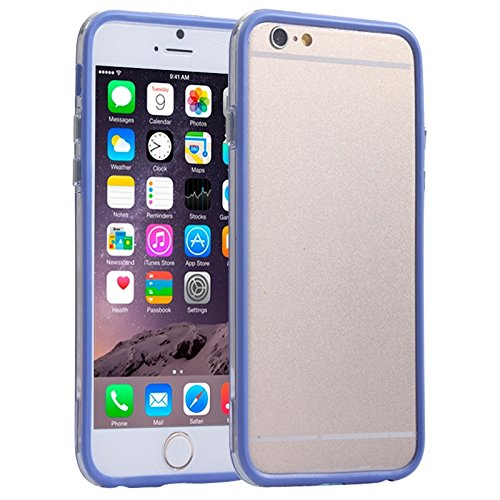Phone case & Hülle Für iPhone 6 Plus & 6S Plus, Transparente Kunststoff + TPU Stoßfänger Fall Fall ( SKU : S-IP6P-0032D ) S-IP6P-0032D