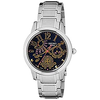 Seiko Criteria Analog Blue Dial Women's Watch-SPA773P1