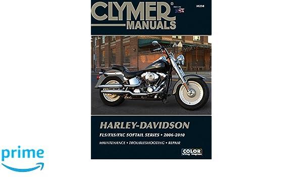 Harley-Davidson Fls/Fxs/Fxc Softail Series Clymer Clymer ... on