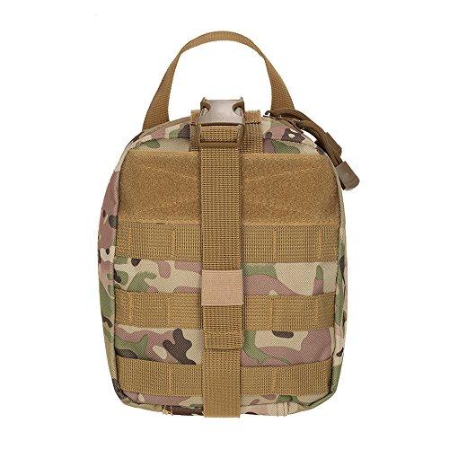 Lixada Taktische Medical Erste Hilfe Tasche, Reißfest und Langlebig, Größe: 20 * 17 * 9cm