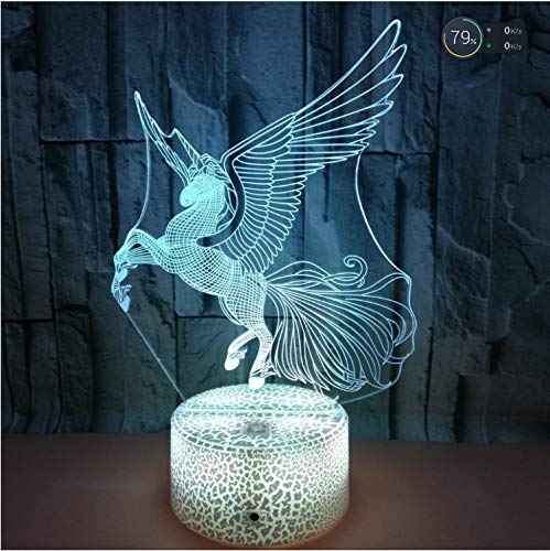 Nachtlicht einhorn touch licht batterie lampe nachtlicht lampe lampe nocne decoracao lampo lampa de lava lampe