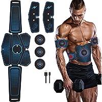 NIULLA EMS Estimulador Muscular Masajeador Entrenador Abdominal Cinturón Cuerpo Adelgazante Entrenamiento Físico Inteligente Pegatinas De Pérdida De Peso Eléctrica