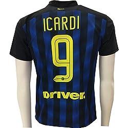 Camiseta Jersey Futbol Inter Mauro Icardi 9 Replica Autorizado (M)
