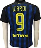 Maglia Inter Icardi 9 Replica Ufficiale 2016-2017 Tutte le Taglie (L)