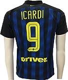 Maglia Inter Icardi 9 Replica Ufficiale 2016-2017 Tutte le Taglie (M) - Inter - amazon.it