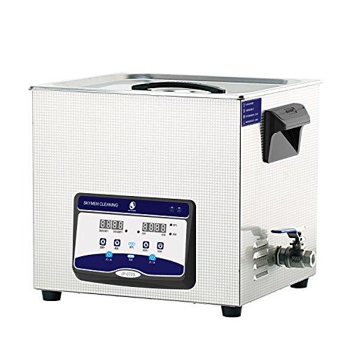 SKYMEN Ultraschallreinigungsgerät 20L Ultraschallreiniger Ultraschall reinigung Metallteile Auto Zubehör Vergaser Spritzgussform,Ultraschallgerät mit Heizungs|Zeiteinstellung|Entgasen funktion
