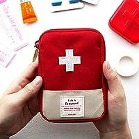 EQLEF® 1 piece Mini esterna portatile borsa da viaggio Medical First Aid Kit Bag imballaggio della droga