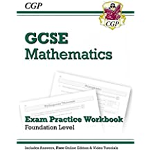 GCSE Maths Exam Practice Workbook with Answers and Online Ed
