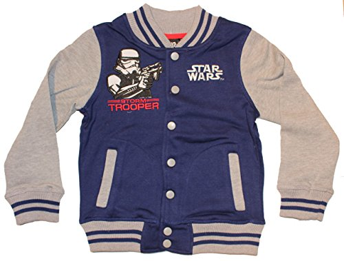 Disney Star Wars College giacca Blau 98 cm