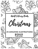 Easy Christmas Coloring Books for Adults