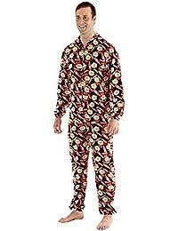 Harvey James - Pijama de una pieza - Logo - para hombre