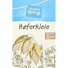Schapfenmühle Haferkleie Naturkost, 7er Pack (7 x 500 g Schale)