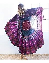 WDBS Écharpe solaire / serviettes de plage / 150 * 150cm tapis de plage
