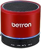 Betron KBS08 Wireless Portable Travel Bluetooth Speaker Red