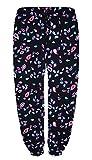 New Womens Ladies Ali Baba Cotton Floral,Tropical,Aztec,Paisley Print Full Length Harem Trousers Plus Size 81012141618