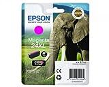 1x Cartouche d'encre d'origine pour EPSON Expression Photo XP 760, C13T24334010–Magenta