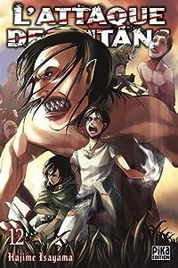 L'Attaque des Titans Edition simple Tome 12