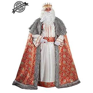 DISBACANAL Disfraz de Rey Mago Melchor para Adulto – Único, XL