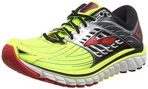 Brooks Glycerin 14, Chaussures de Running Homme, Multicolore (Nightlife/Black/High Risk Red), 42.5 EU