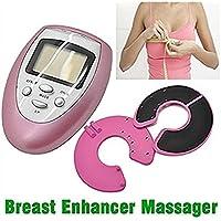 Kit portátil de masaje vibrador para agrandar los senos, uso doméstico, con gel incluido