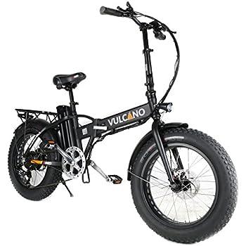 Fat Bike 20 Pieghevole Bicicletta Bici Elettrica Pedalata Assistita