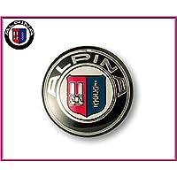 BMW Alpina Logo Stemma Emblema Fregio Sterzo BMW SERIE 1 2 3 5 6 7 1 3 5 6 X 45 mm